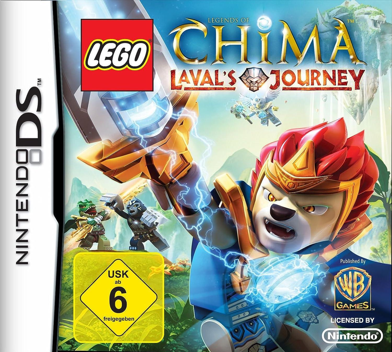 Warner Bros LEGO Legends of Chima Lavals Journey - Juego (Nintendo DS, Acción / Aventura, TT Games): Amazon.es: Videojuegos