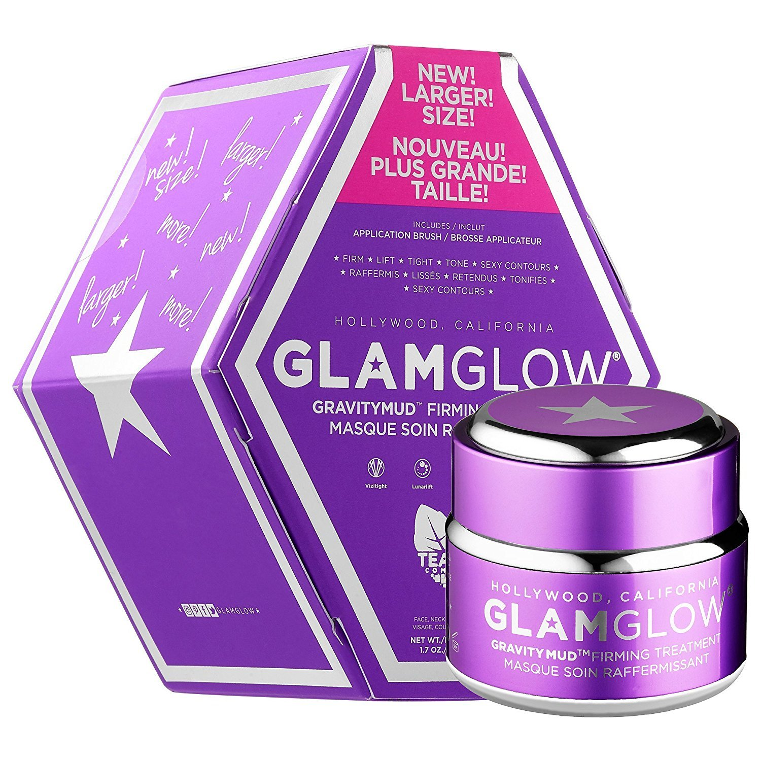 picture This Jumbo-Sized Gravitymud Mask from Glamglow Is 20 Percent Off at Nordstrom Right Now