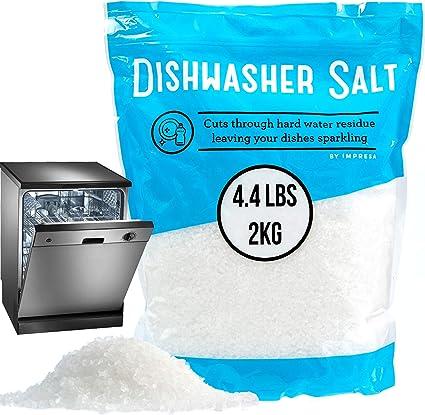 Amazon.com: 4,4 Lb lavaplatos Sal/Suavizador de agua Sal ...