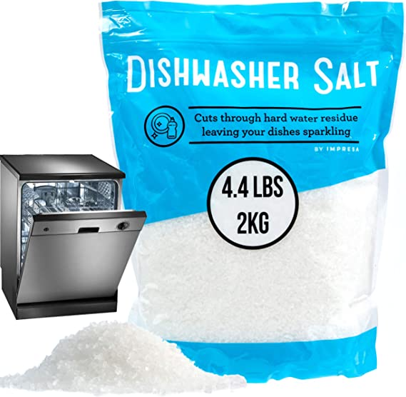 4.4 LB Dishwasher Salt/Water Softener Salt - Compatible with Bosch