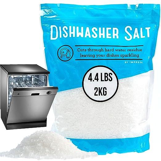 4.4 Kg lavavajillas sal/de sal de descalcificador de agua ...