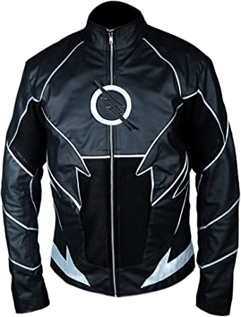 F/&H Kids Flash Season 2 Jay Garrick Teddy Sears Genuine Leather Jacket