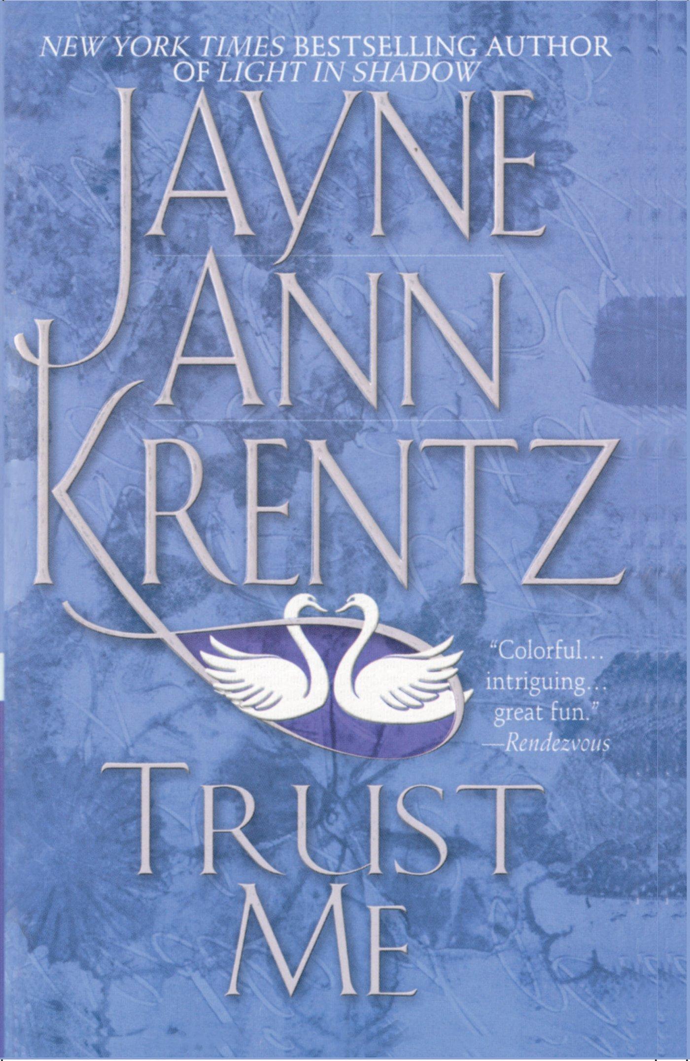 Trust me jayne ann krentz 9781476752495 amazon books fandeluxe Image collections