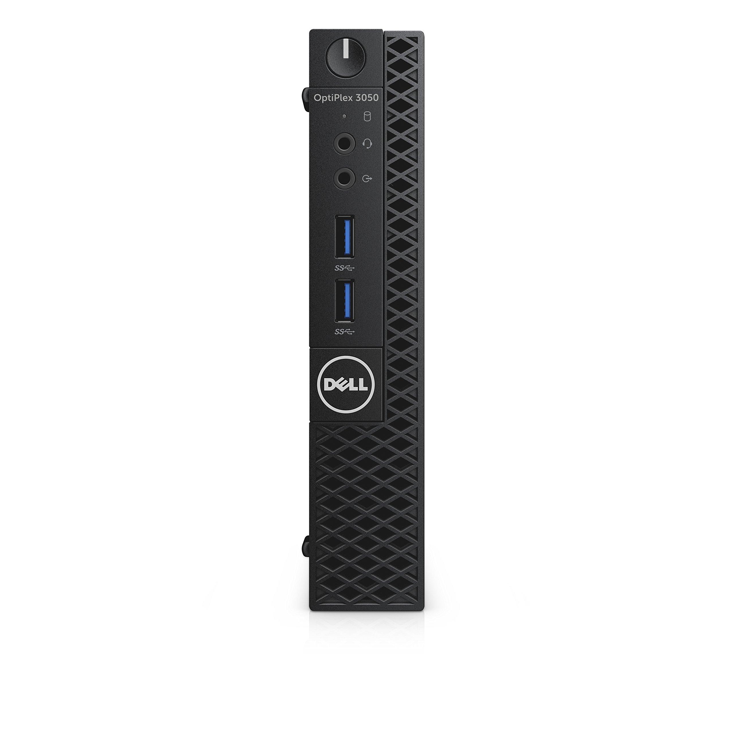 Dell CFC5C OptiPlex 3050 Micro Form Factor Desktop Computer, Intel Core i5-7500T, 8GB DDR4, 256GB Solid State Drive, Windows 10 Pro by Dell