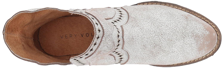 Very Volatile Women's Brescia Western Boot B06XJ9F6ZN 7 B(M) US|White