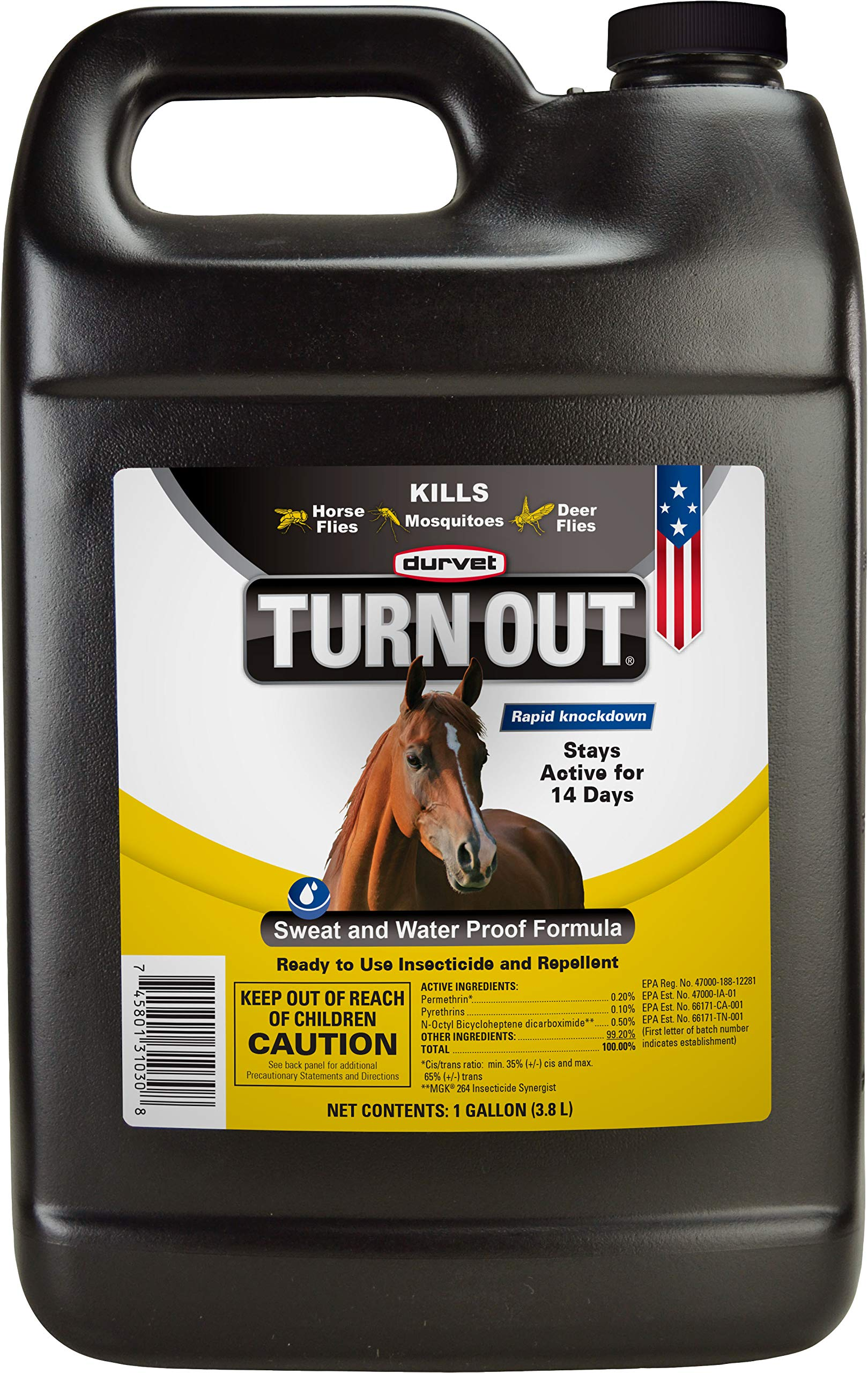 DURVET FLY D Turn Out Fly Spray Gallon by Durvent