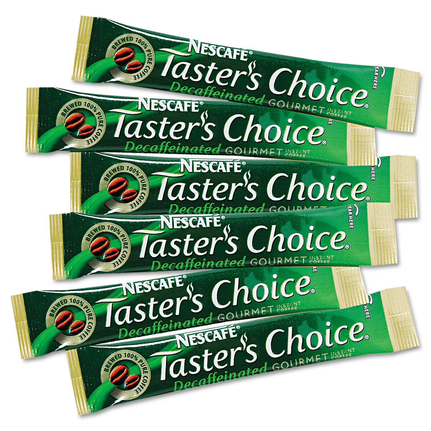Nescafe Coffee, Taster's Choice, House Blend Decaf Stick Pack, 4.79 Ounce Package, 80 Count