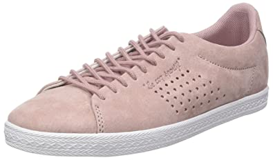 cab7d56d4879 Le Coq Sportif Women s Charline Nubuck Bass Trainers  Amazon.co.uk ...