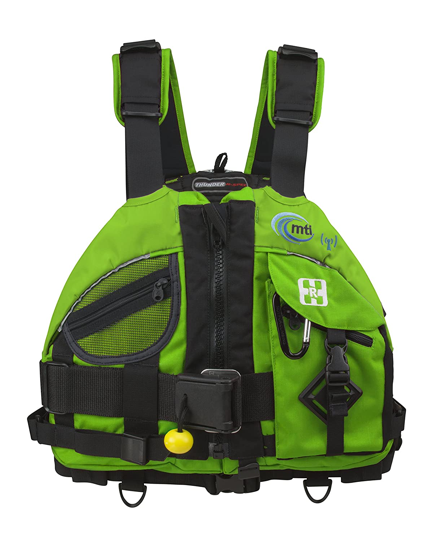 MTI Adventurewear Thunder r-spec Rescue PFDライフジャケット 3L グリーンフラッシュ (Green Flash)  B01MDK4GHD
