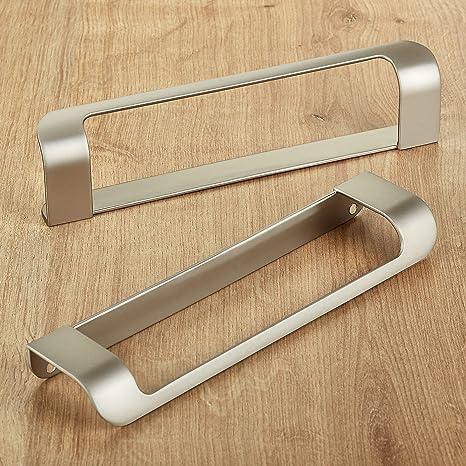2 piezas Junker Design Tirador de Muebles LYS Distancia Agujeros ...