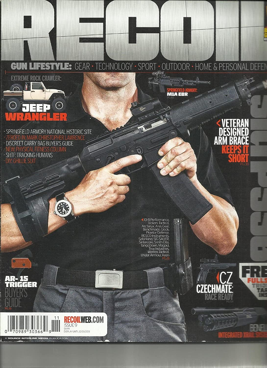 RECOIL MAGAZINE, 2013 ISSUE, 09 (GUN LIFESTYLE : GEAR * TECHNOLOGY * SPORT) s3457