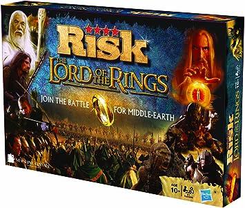 Hasbro Gaming Risk - El señor de los Anillos, juego de mesa (versión en inglés) (20060): Amazon.es: Juguetes y juegos