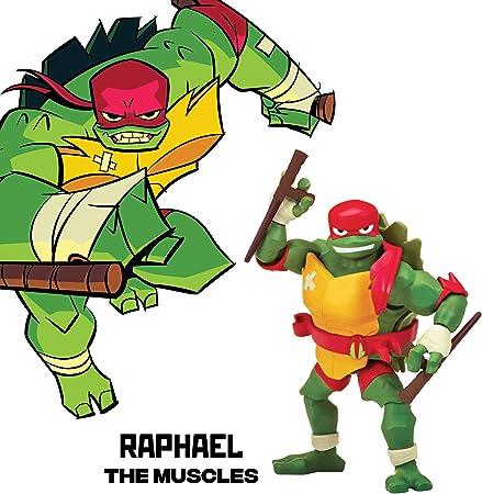Amazon.com: Figuras de acción de TMNT, Raphael, Multicolor ...