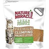 Nature's Miracle Premium Walnut Clumping Litter, 10 lb