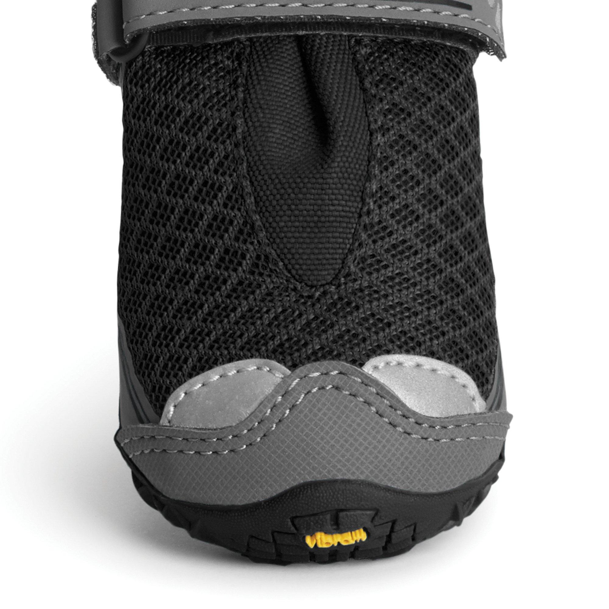 RUFFWEAR 15202-001300 - Grip Trex, All-Terrain Paw Wear for Dogs, Obsidian Black, 3.0 in (Set of 4) by RUFFWEAR (Image #1)