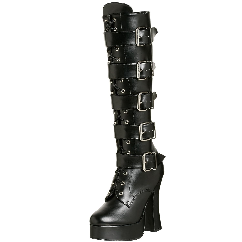 Pleaser Women's Electra-2042 Boot B00125LG28 12 B(M) US Black