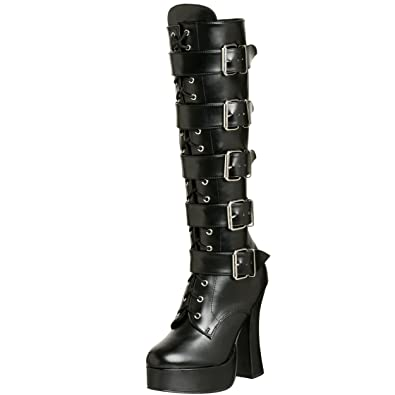 Pleaser Stiefel ELECTRA-2042 - Lack Schwarz 41 EU DCc0Syp