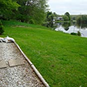 Amazon.com : Suncast Flagstone Border Edging - Natural