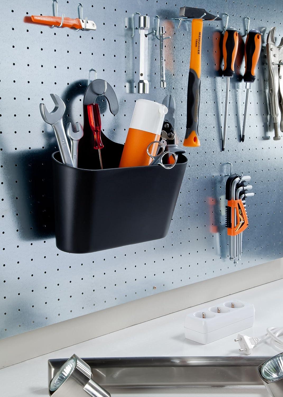 Wohnideen Shop wohnideenshop duschkorb mit haken zum einhängen grau und 15 anderen
