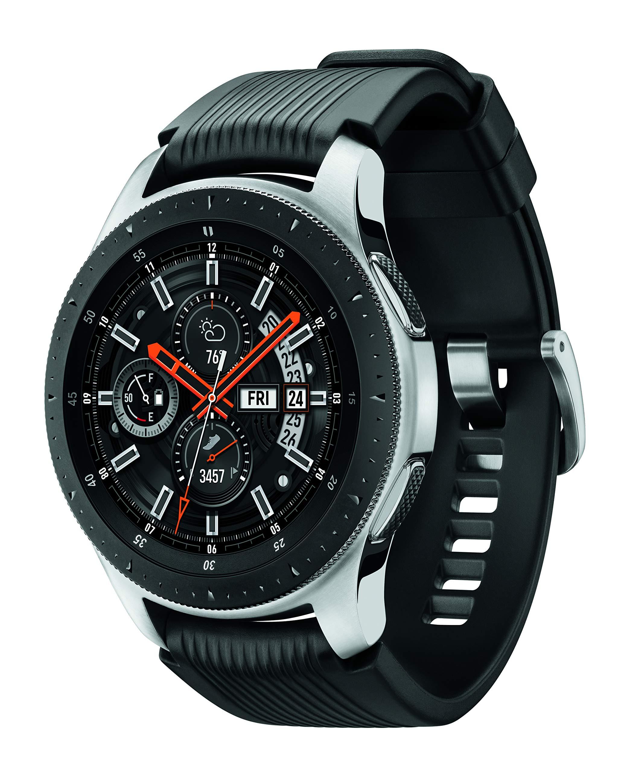 Samsung Galaxy Smartwatch (46mm) Silver (Bluetooth), SM-R800NZSAXAR - US Version with Warranty by Samsung (Image #2)