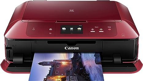 Canon PIXMA MG7752 Inyección de Tinta A4 WiFi Rojo - Impresora ...