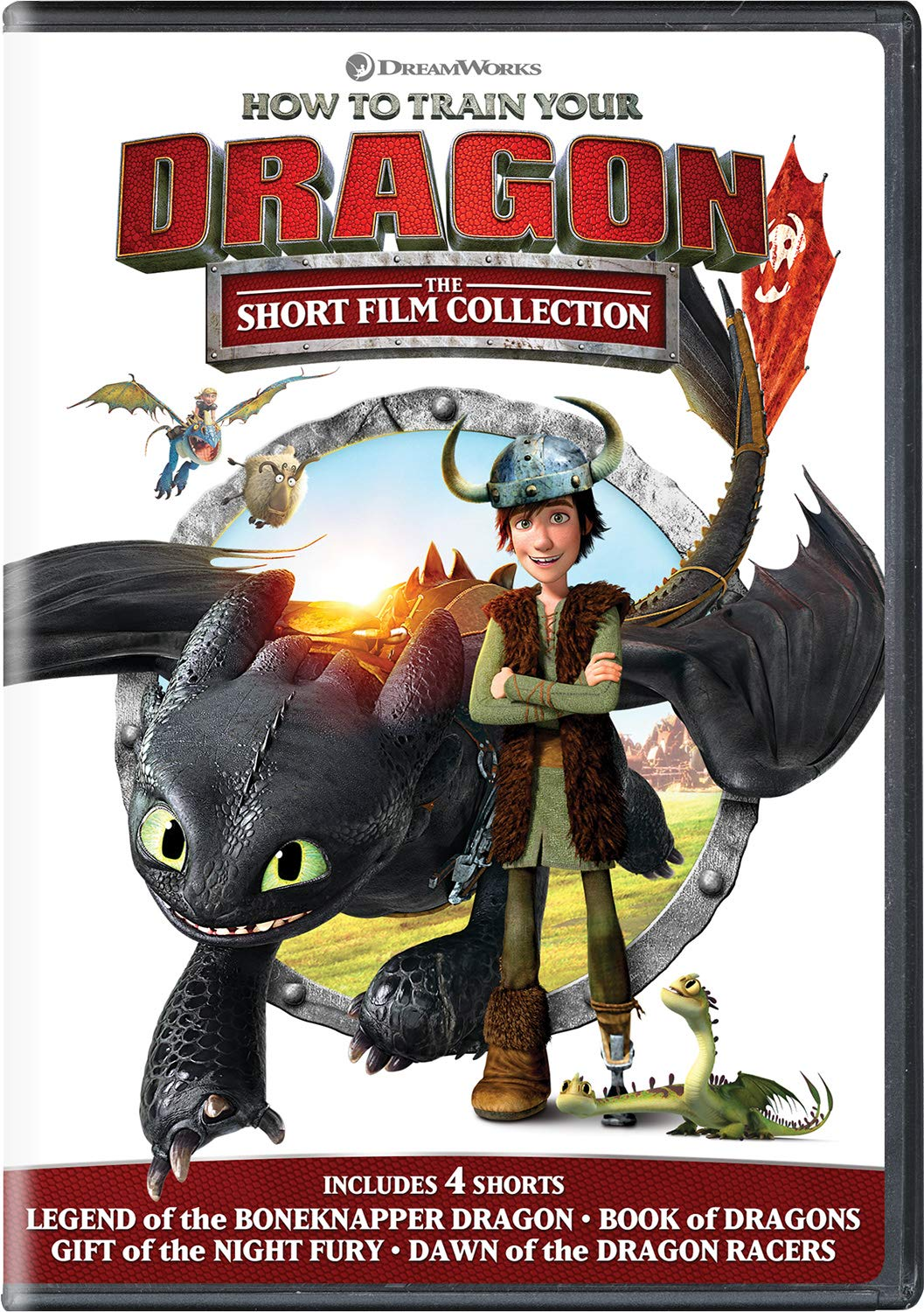 DVD : How To Train Your Dragon: The Short Film Collection (DVD)