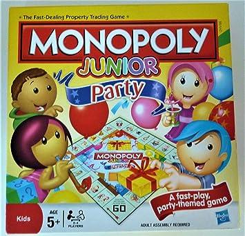 Hasbro Monopoly Junior Party - Juego de Mesa (en inglés ...