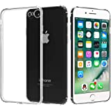 Migeec Compatible with iPhone 7/8 / SE 2020 Case - Clear Soft TPU Bumper [Shock-Absorbing] Full Protection Phone Case…