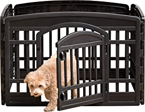 "IRIS USA 24"" Exercise Playpen Panels for Dog"