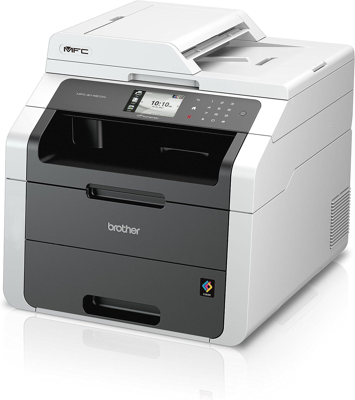 Brother MFC-9142CDN -Impresora láser multifunción (22 ppm, WiFi ...