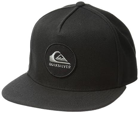 7b9a53cca6c ... wholesale quiksilver mens perfect snap trucker hat black 7f895 2ca5b