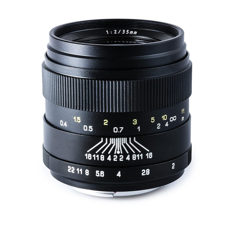 Oshiro 35mm f/2 LD UNC AL Wide Angle Full Frame Prime: Amazon.co.uk ...
