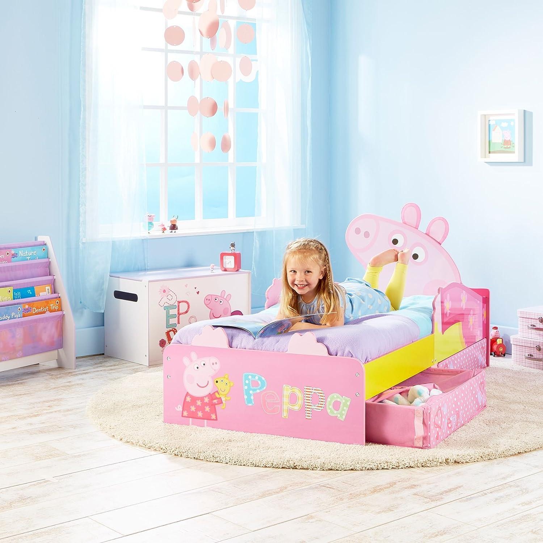 Peppa Pig 509PED - Cama infantil con espacio de almacenamiento ...