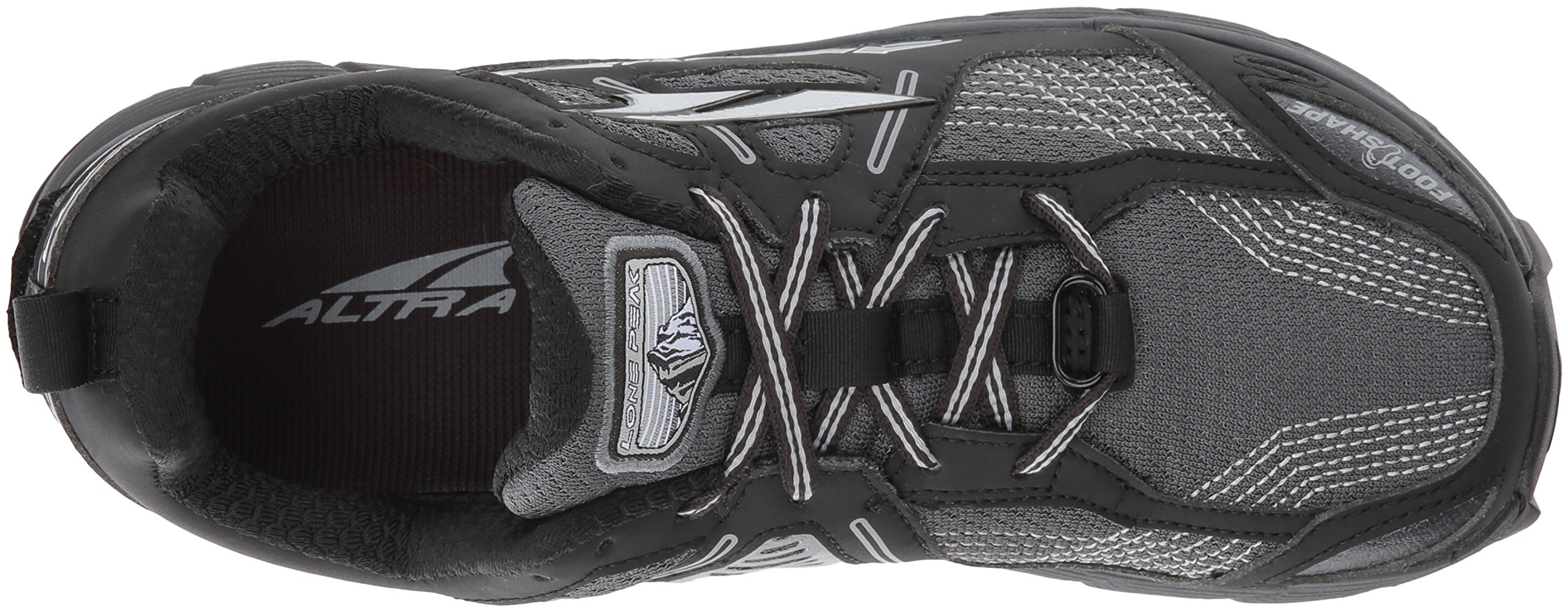 Altra Women's Lone Peak 3.5 Running Shoe, Black, 8.5 B US by Altra (Image #8)