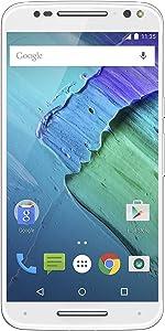 Moto X Pure Edition Unlocked Smartphone With Real Bamboo, 32GB White/Bamboo (U.S. Warranty - XT1575)