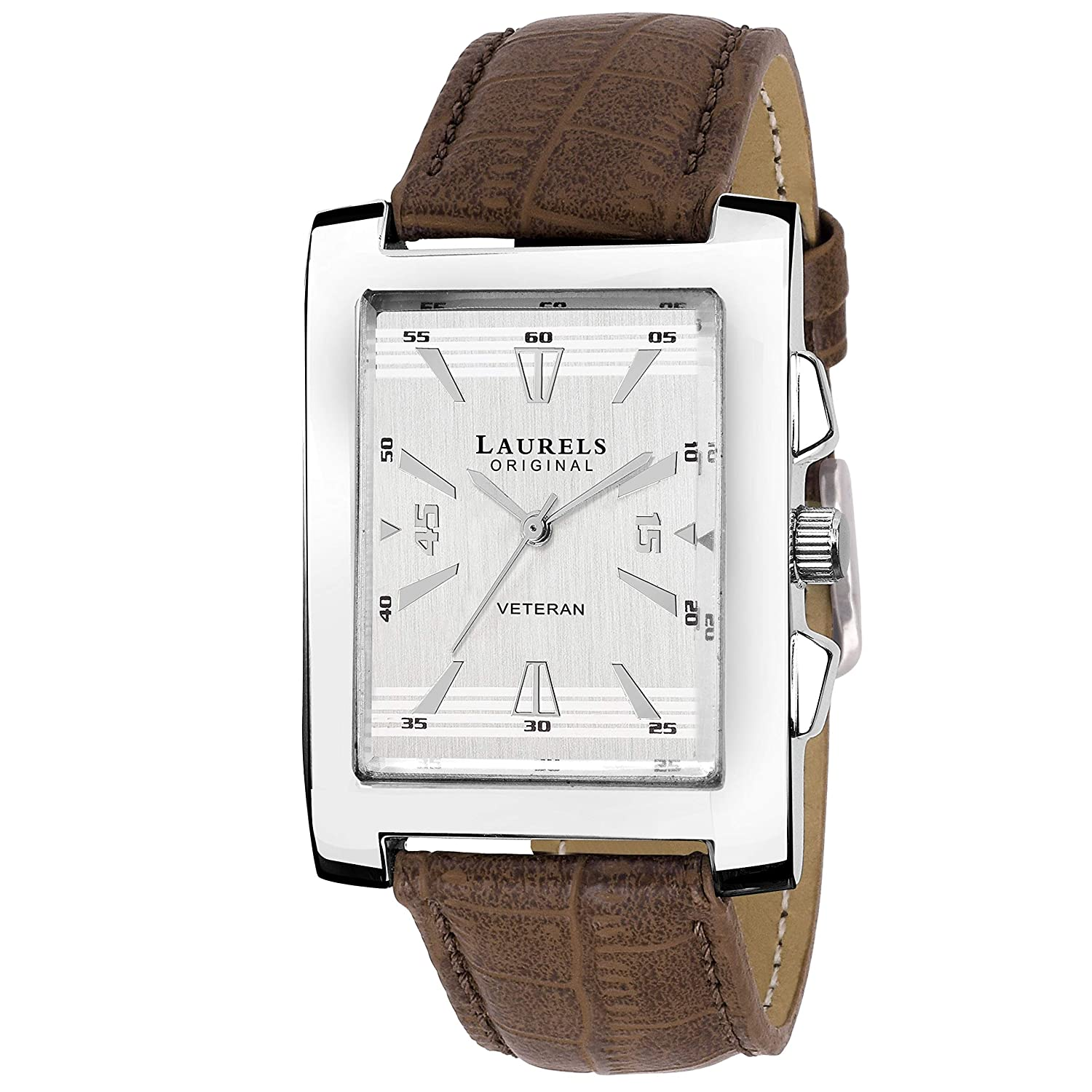8d170015e05c Buy Laurels Imperial 2 Analog Silver Dial Men s Watch - Lo-Imp-201 Online at  Low Prices in India - Amazon.in