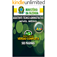 Preparatório Concurso Ministério da Fazenda 2014 - Cargo de Assistente Técnico Administrativo: Livro preparatório para o novo concurso do Ministério da Fazenda 2014