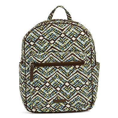 8f1e30784 Amazon.com: Vera Bradley Women's Leighton Backpack, Rain Forest: Shoes