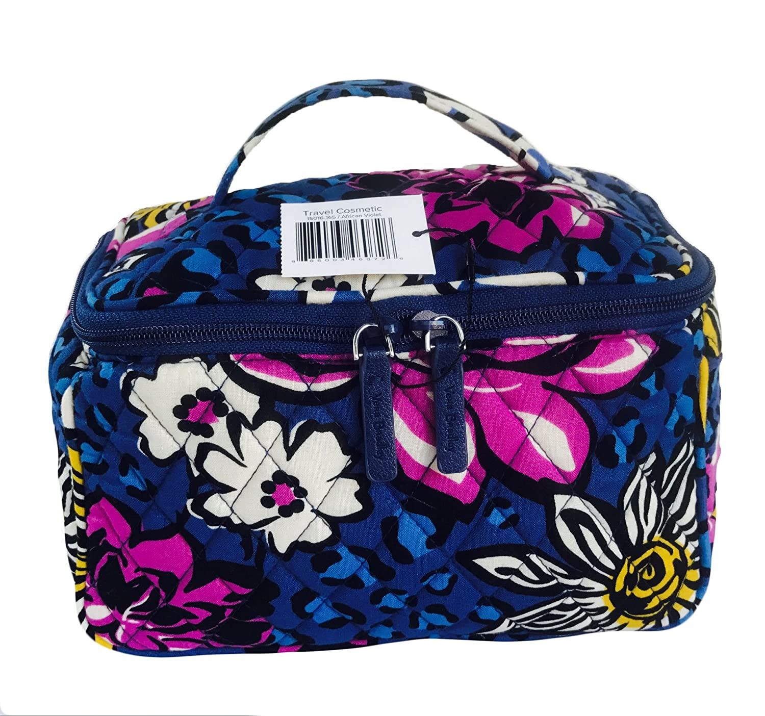 3f6d54e7e7bf Vera Bradley Travel Cosmetic Bag in African Violet