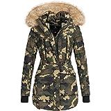 Marikoo NOVA Damen Mantel Wintermantel Steppjacke Winter Jacke lang XS-XXL 6Farben