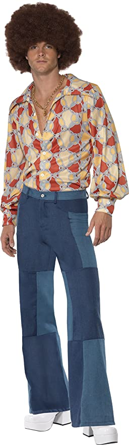 60s , 70s Hippie Clothes for Men Smiffys Adult Retro Seventies Costume $30.83 AT vintagedancer.com