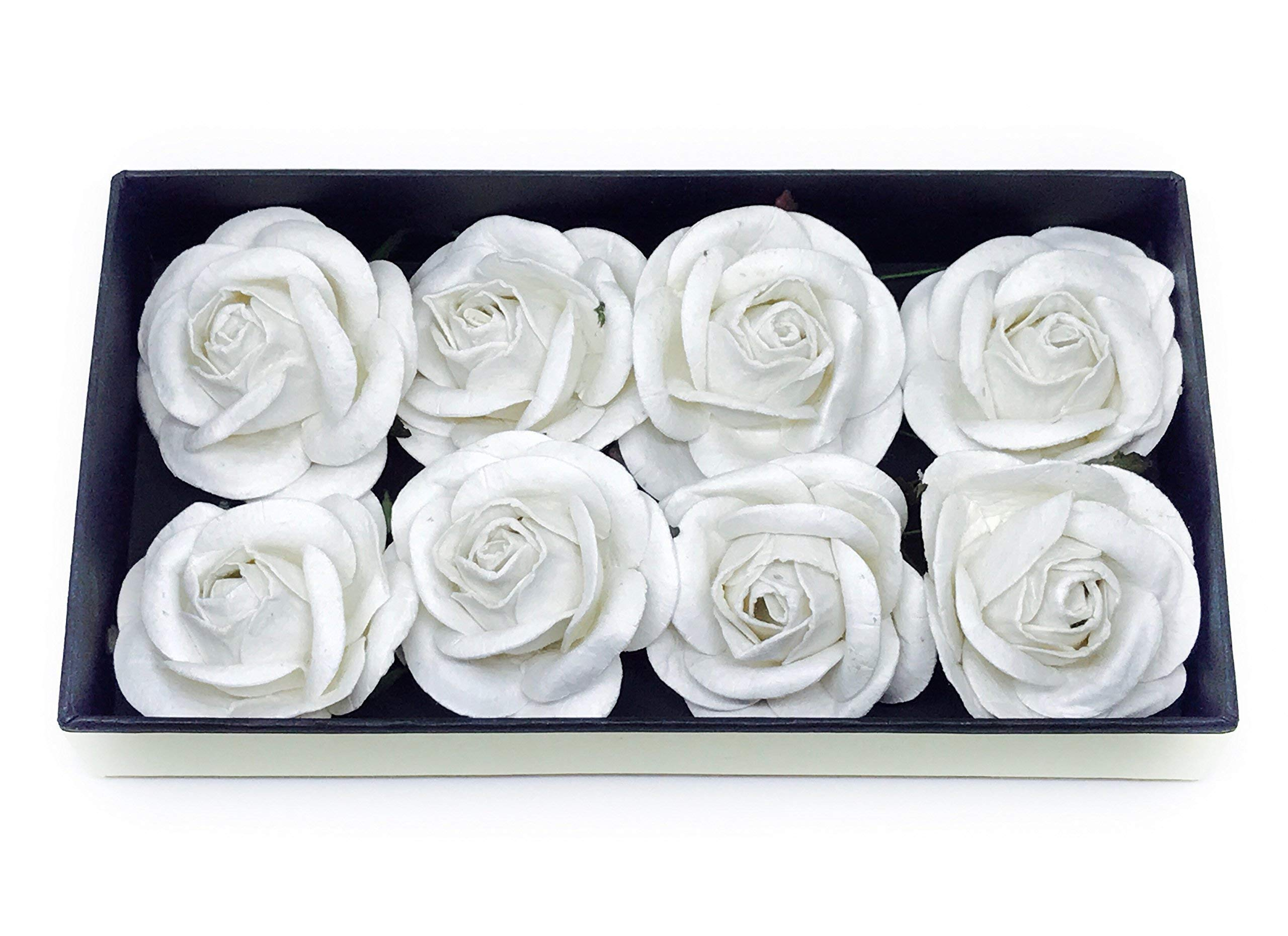 2-White-Paper-Flowers-Paper-Rose-Artificial-Flowers-Fake-Flowers-Artificial-Roses-Paper-Craft-Flowers-Paper-Rose-Flower-Mulberry-Paper-Flowers-10-Pieces