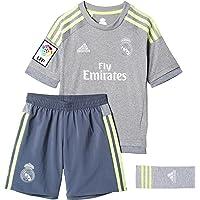adidas 2ª Equipación Real Madrid CF SMU Mini - Conjunto
