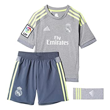 aacb464d942f7 adidas 2ª Equipación Real Madrid CF SMU Mini - Conjunto