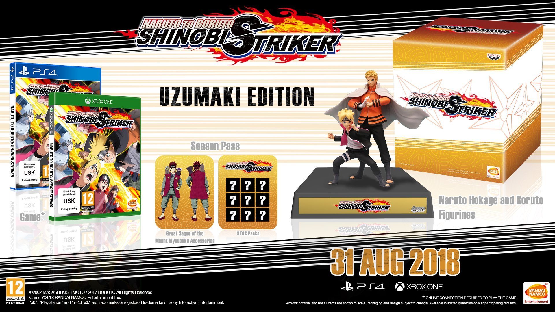 Amazon.com: Naruto to Boruto Shinobi Striker Collectors ...
