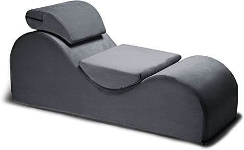 Liberator Esse Sensual Lounge Chair – Special Edition, Gunmetal Grey