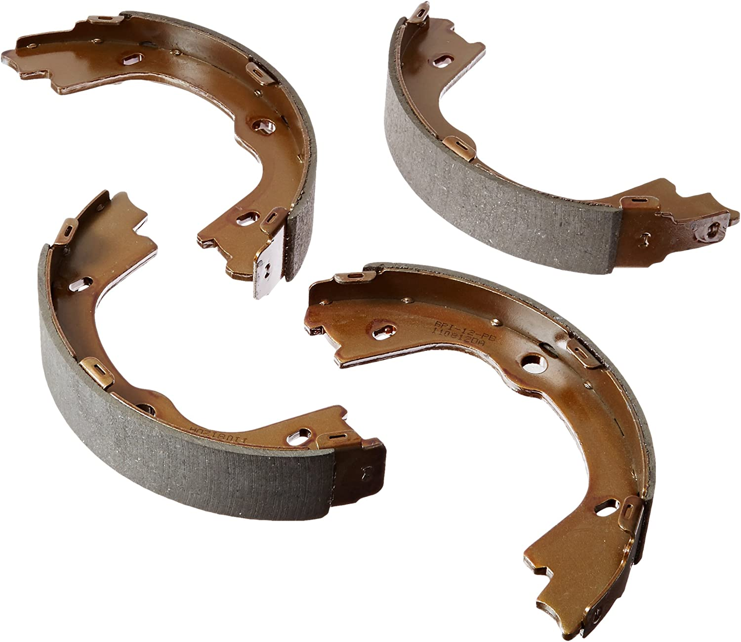 ACDelco 17963B Professional Bonded Rear Parking Brake Shoe Set