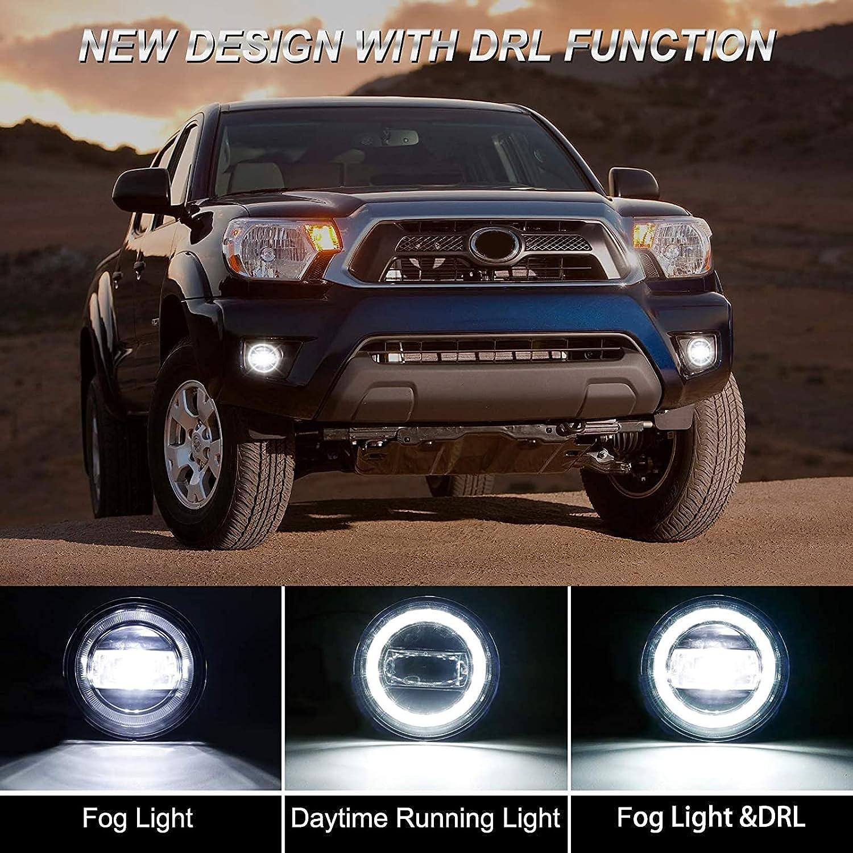 Driving, Fog & Spot Lights Tacoma Upgrade LED Fog Light Assembly ...