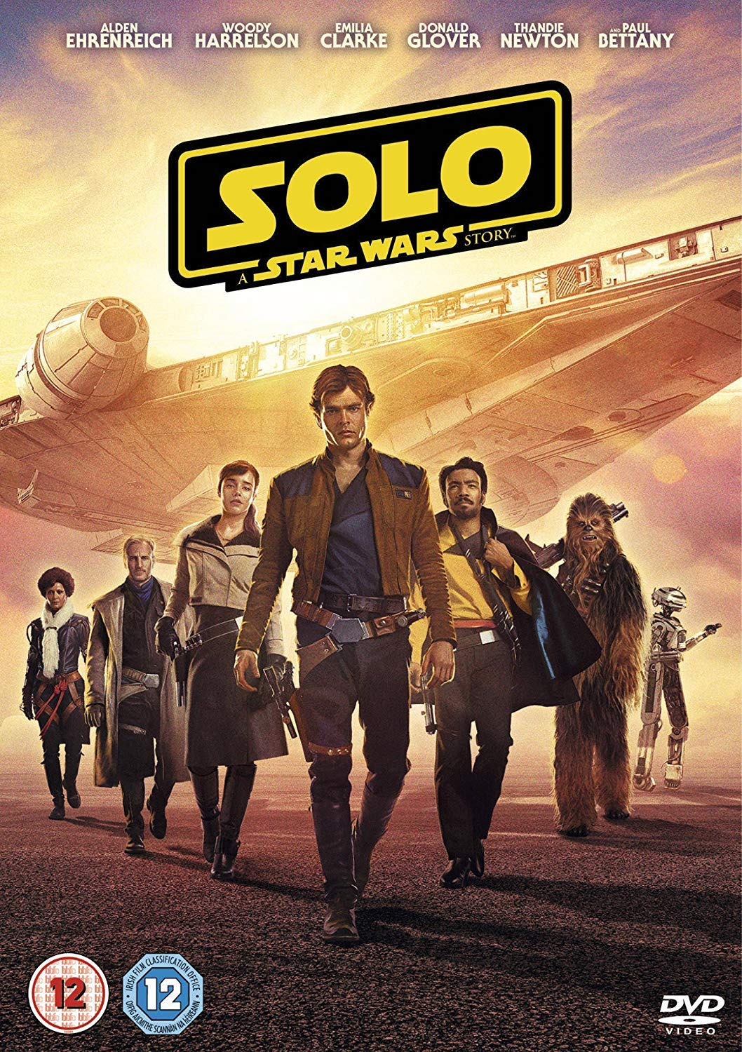 Amazon Com Solo A Star Wars Story Dvd 2018 Movies Tv