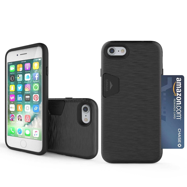 Amazon.com: iPhone 7 Case, Cellto [Crazy Parachoques] doble ...